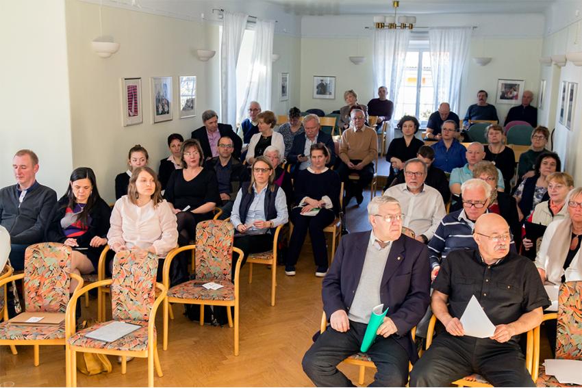 A délelőtt folyamán az egyesületek beszámolóit hallgathatták meg a közgyűlés résztvevői. / Fotó: Bitay Zsolt