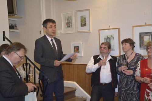 A NYEOMSZSZ 15. közgyűlése Potápi Árpád nemzetpolitikáért felelős államtitkár részvételével.