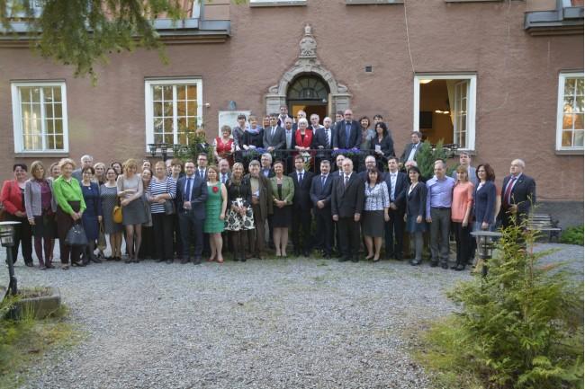 A stockholmi Magyar Ház adott otthont a NYEOMSZSZ jubileumi közgyűlésének. Fotó: Szántó András