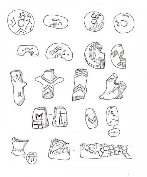 Tordosi leletek Torma Zsófia jegyzetfüzetéből