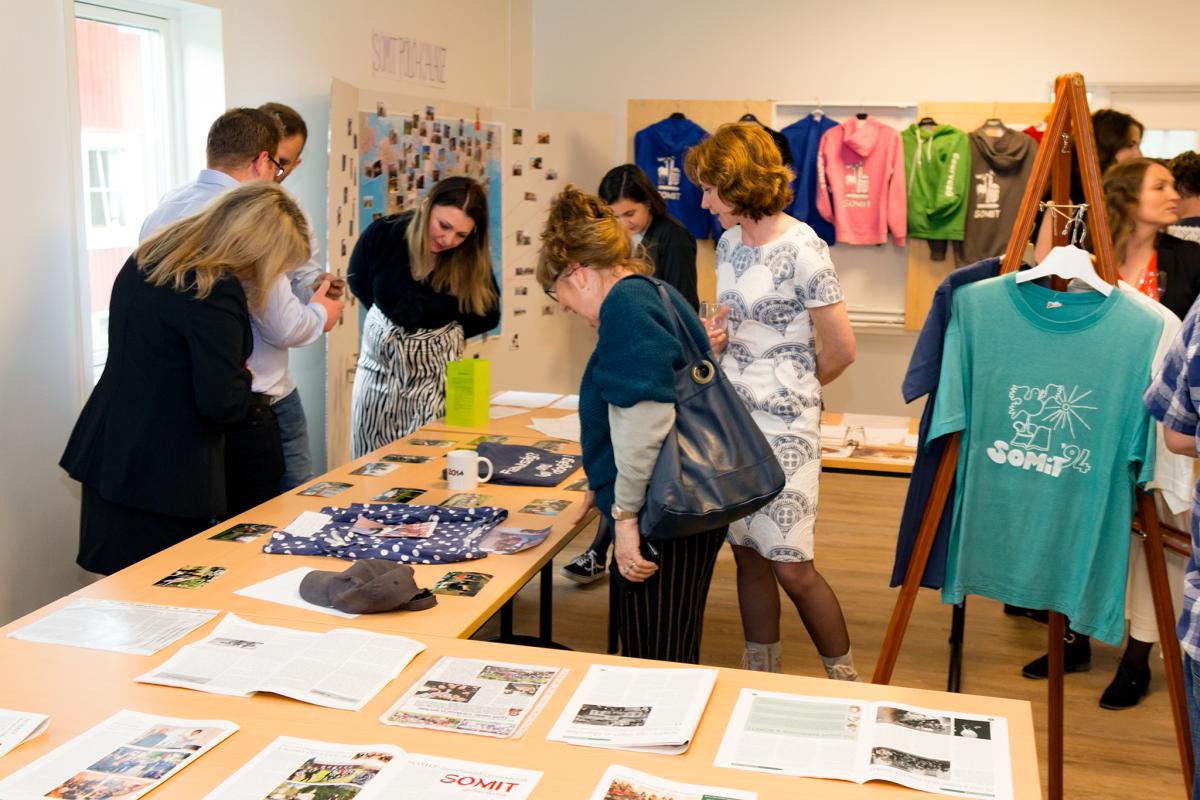 SOMIT 25 jubileumi emléktárgy kiállítás / Fotó: Bitay Zsolt
