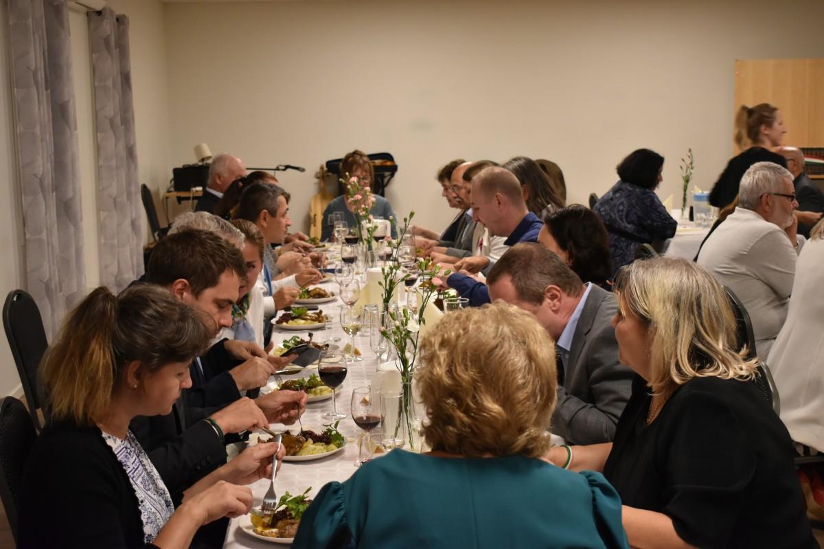 Az ünnepi vacsora / Fotó: Antal József