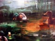 2019  Ernst Bilgren festmenye 80x125 cm olaj-farostlemez
